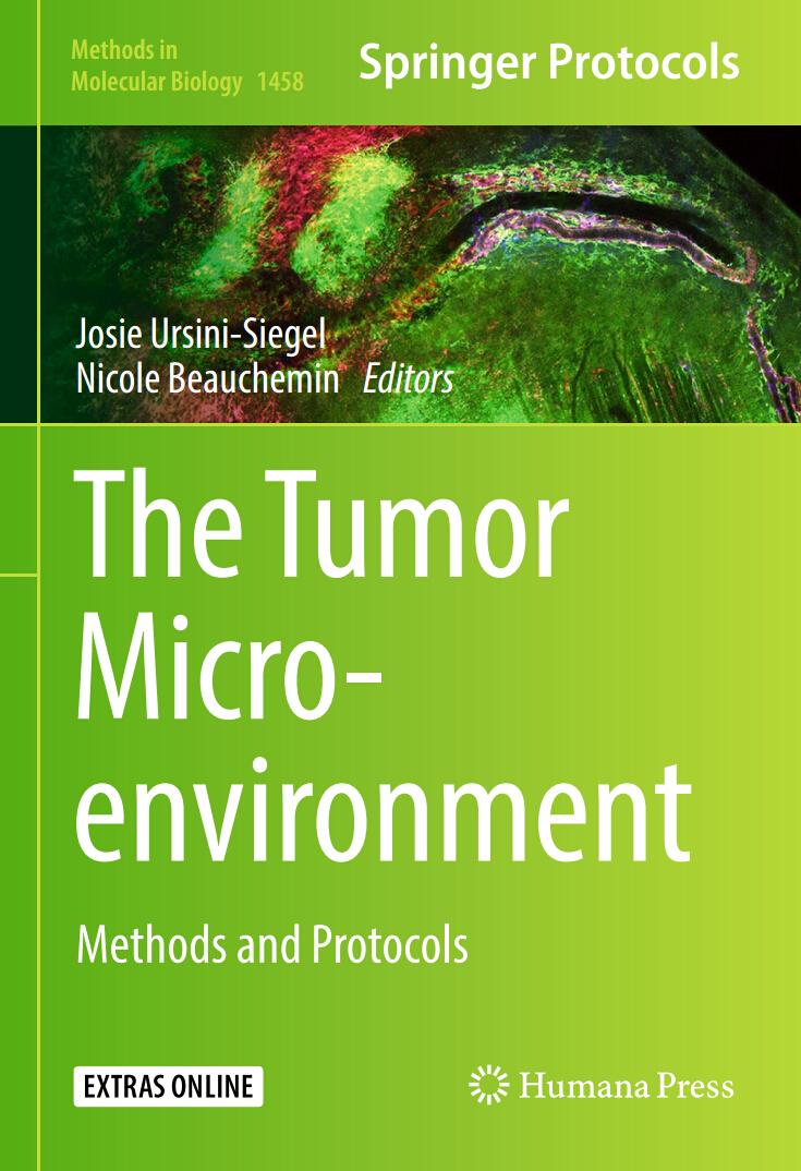 Springer Protocols:肿瘤微环境中的细胞外膜泡的分析方法
