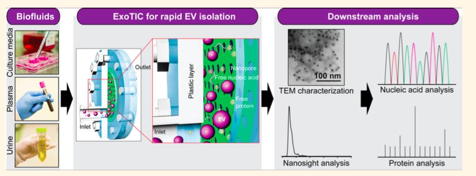 ExoTIC:一种新的外泌体分离芯片