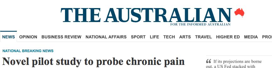澳大利亚人报:研究人员拟用脊髓液中的外泌体治疗慢性疼痛