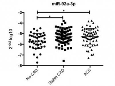 Circ Res:动脉粥样硬化促进功能性miRNA-92a-3p包装进内皮微泡