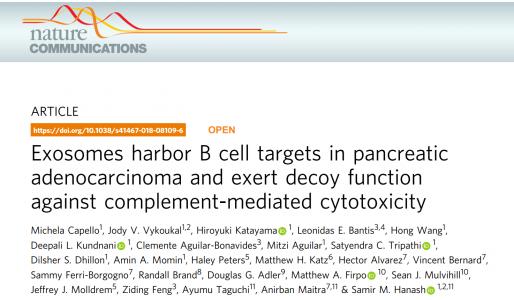 Nature子刊:蛋白质组学分析揭示癌症外泌体抑制抗肿瘤免疫反应