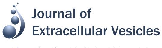 号外:journal of extracellular vesicles 获得第一个影响因子