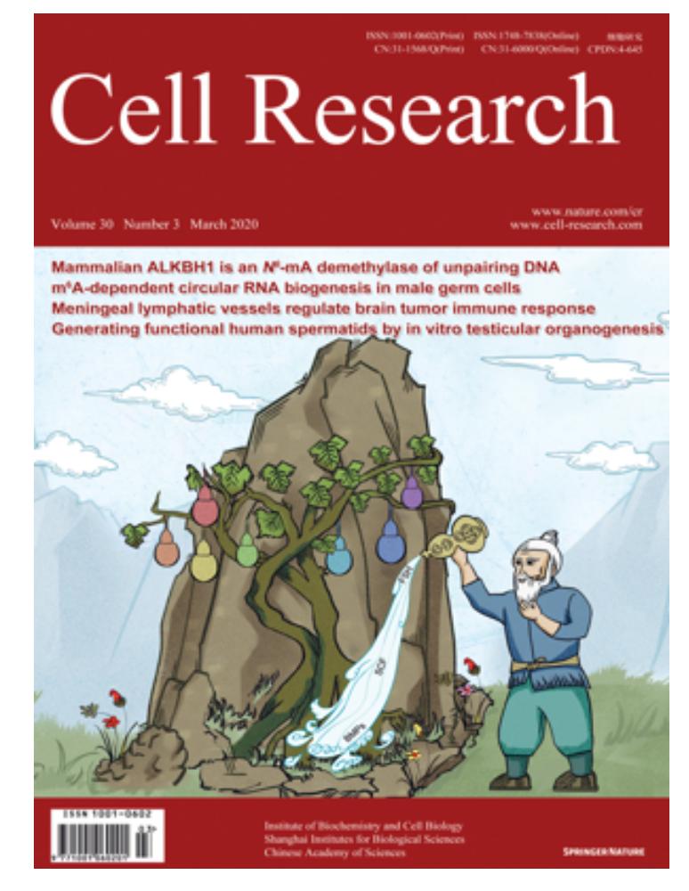 【 国内学术期刊-01】之Cell Research